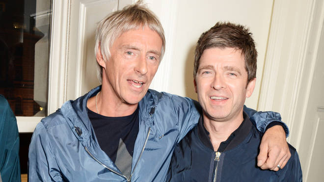 Paul Weller and Noel Gallagher together in 2014