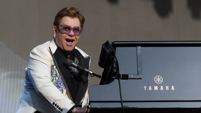 Elton John on his Farewell Yellow Brick Road Tour in 2020