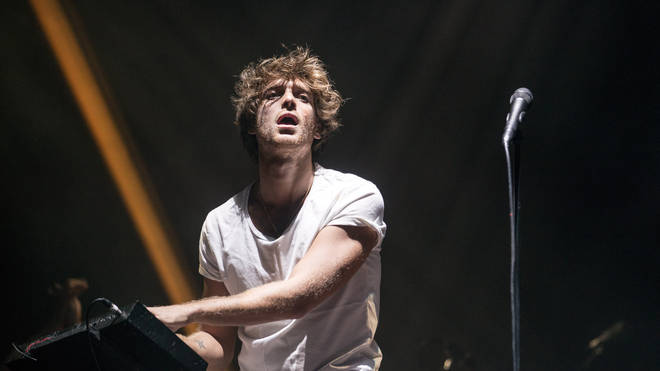 Paolo Nutini performs at Bellahouston Park on August 29, 2015