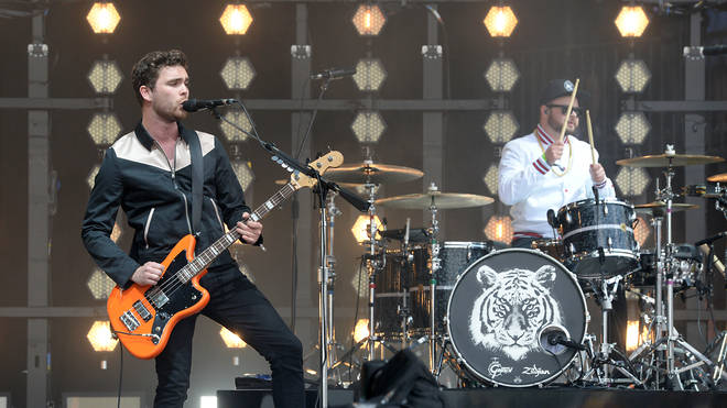 Royal Blood's Mike Kerr and Ben Thatcher play their Glastonbury 2017 set