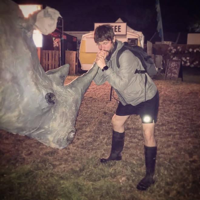 Gordon Smart discovers the healing power of the rhino horn