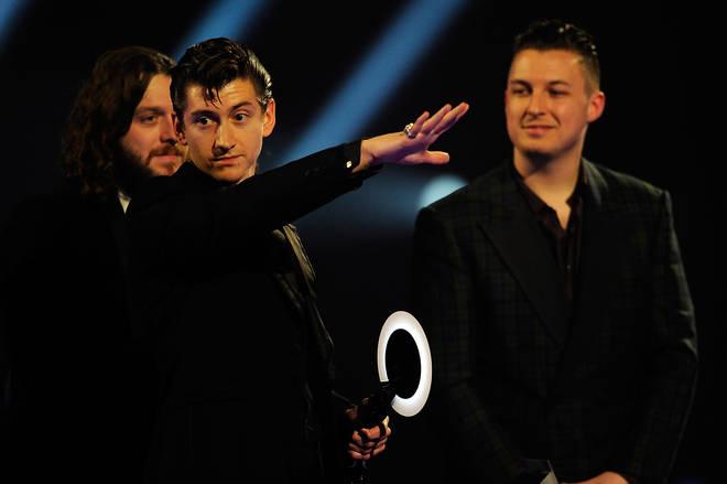 Alex Turner at The BRIT Awards 2014