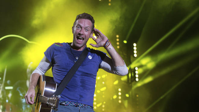 Coldplay wind up their Head Full Of Dreams tour in Argentina in November 2017. Good job too, as Chris Martin's t-shirt appeas to be on its last legs