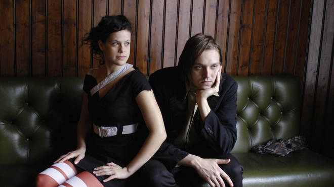 Regine Chassagne and Win Butler from Canadian group Arcade Fire in 2005