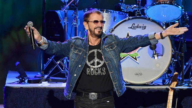 Ringo Starr performs at the 50th anniversary of Woodstock in 2019
