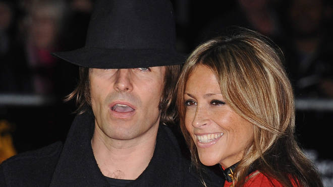Liam Gallagher and Nicole Appleton at the 56th BFI London Film Festival: Crossfire Hurricane