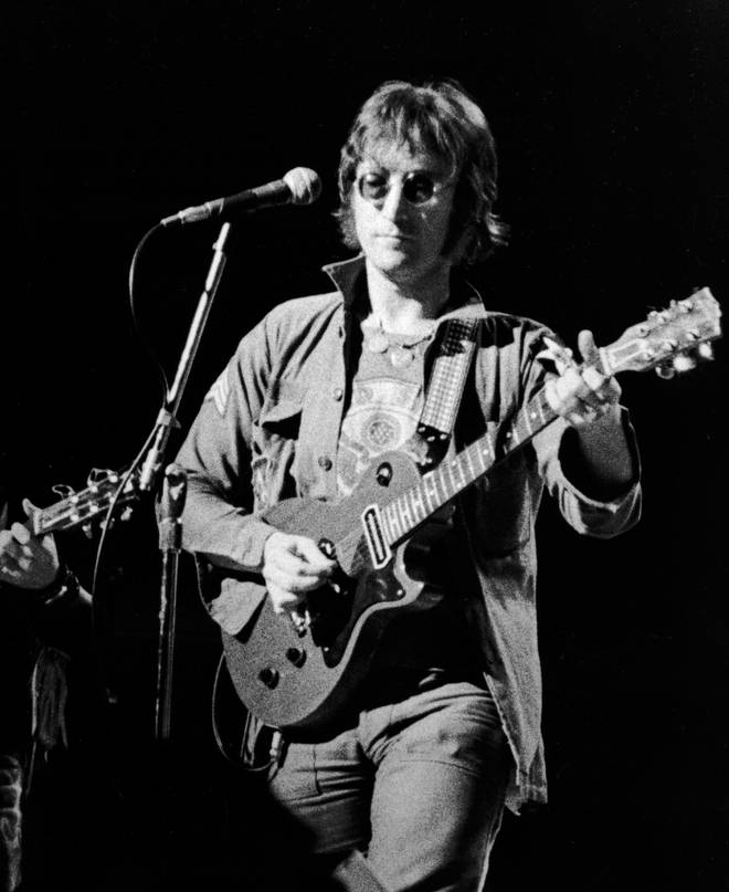 John Lennon Live In New York City Benefit Concert in 1973 at Madison Square Garden
