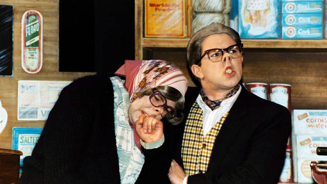 Steve Pemberton and Reece Shearsmith at the League of Gentlemen stage show in 2001