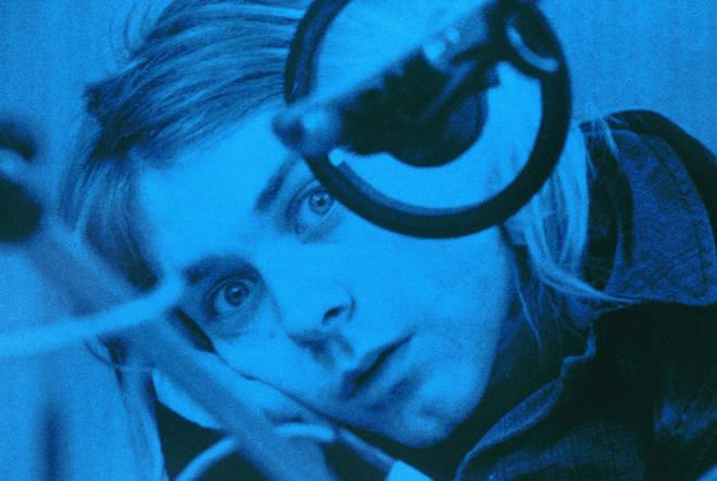 Nirvana's late frontman Kurt Cobain in 1991