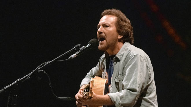Eddie Vedder concert in Barcelona in 2019
