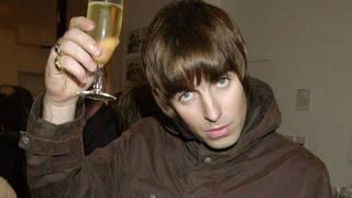 Liam Gallagher, enjoying a drink in 2001