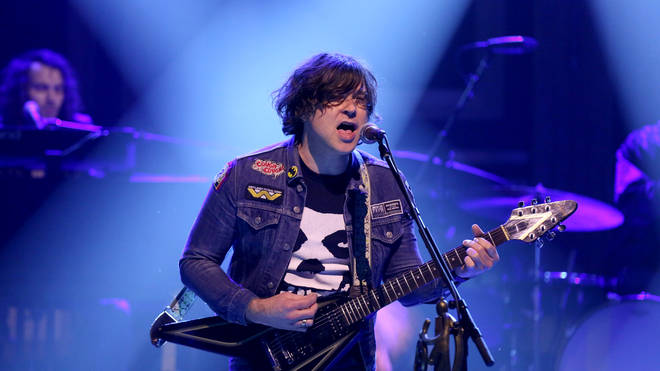 Ryan Adams on The Tonight Show Starring Jimmy Fallon in 2017