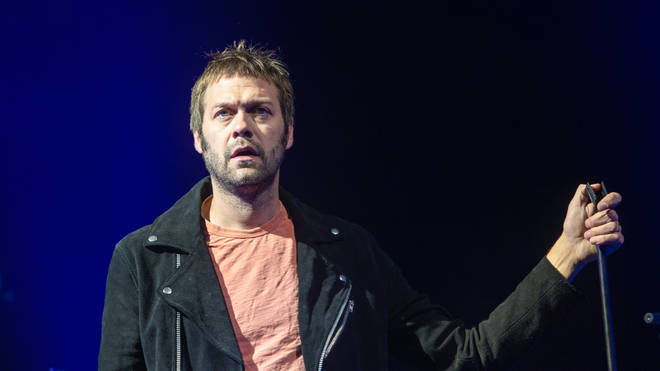 Tom Meighan from Kasabian at Edinburgh Summer Sessions 2018