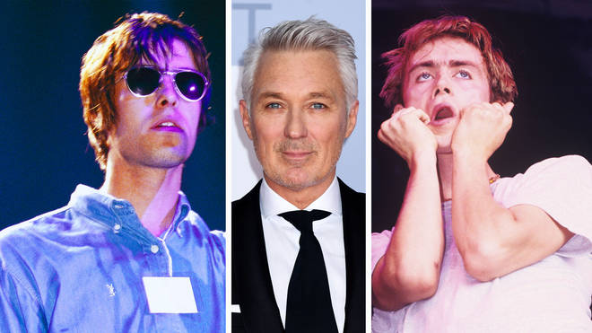 Oasis frontman Liam Gallagher performs in 1994, Spandau Ballet bassist Martin Kemp in 2019 and Blur frontman performs in 1991