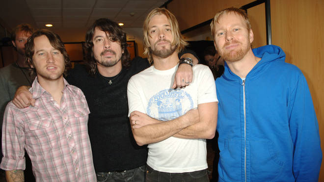 Foo Fighters at the 2005 MTV European Music Awards Lisbon