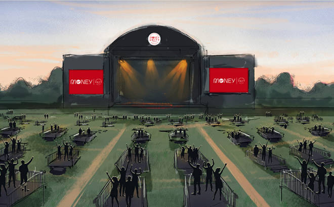 An artist's depiction of what is set to be the Virgin Money Unity Arena