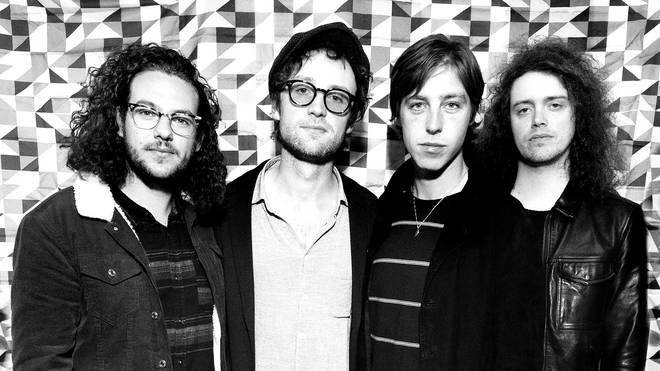 ohnny Bond, Bob Hall, Van McCann and Benji Blakeway of Catfish And The Bottlemen launch their third album, The Balance, in April 2019