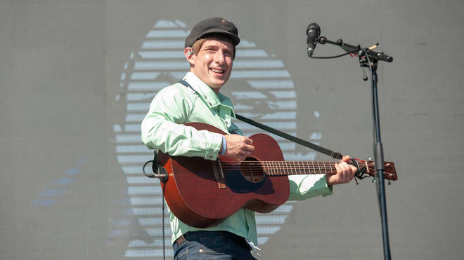 Gerry Cinnamon performs on stage during TRNSMT Festival Day 2 at Glasgow Green on June 30, 2018