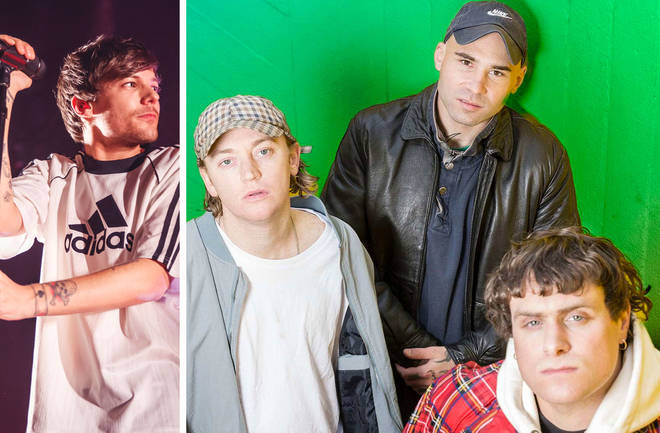 Former One Direction star Louis Tomlinson and DMA'S