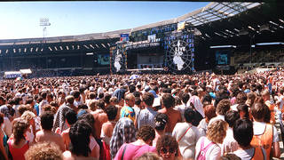 Live Aid In 1985