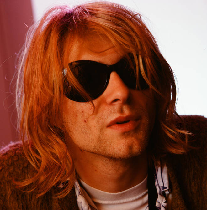 Kurt Cobain during Nirvana's trip to Japan in February 1992