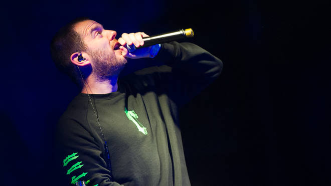 Mike Skinner of The Streets performing live in 2019
