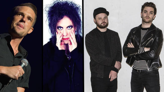 The Killers' Brandon Flowers, The Cure's Robert Smith and Royal Blood