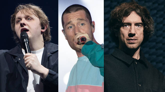 Lewis Capaldi, Bastille frontman Dan Smith and Snow Patrol's Gary Lightbody