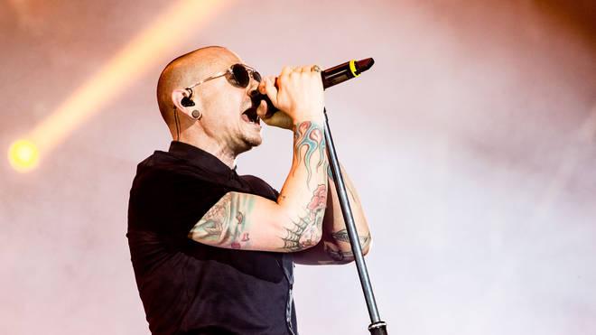 Linkin Park frontman Chester Bennington performs on 17 June 2017
