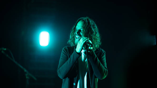 Chris Cornell performs with Soundgarden in 2017