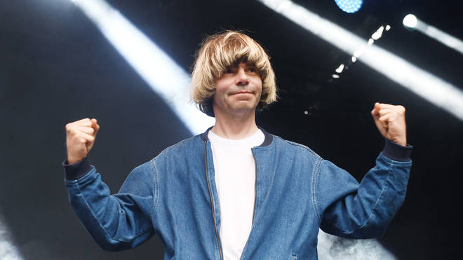The Charlatans' Tim Burgess performs in 2019