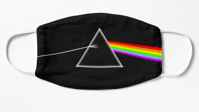 Dark Side Of The Moon face mask