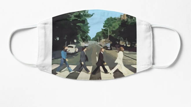 Abbey Road face mask