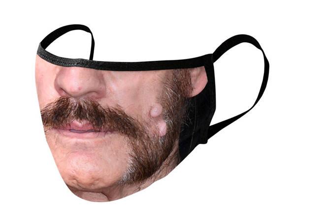 Lemmy face mask
