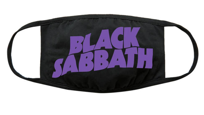Black Sabbath face mask