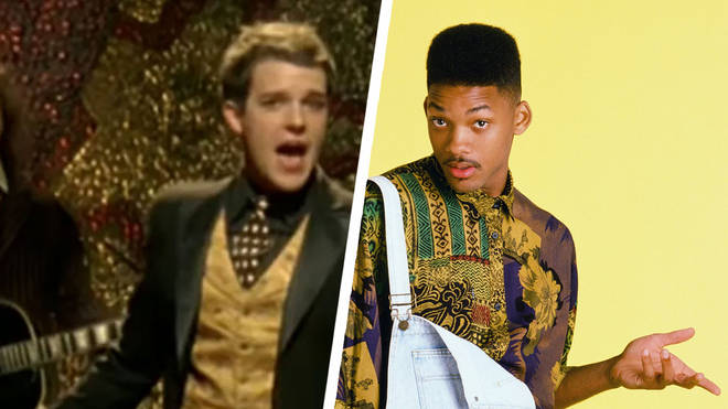 The Killers' Brandon Flowers in Mr. Brightside video and Will Smith as The Fresh Prince of Bel-Air
