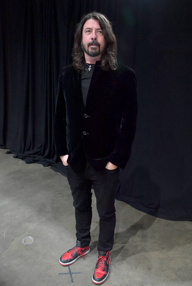 Foo Fighters' Dave Grohl at Let's Go Crazy The GRAMMY Salute To Prince