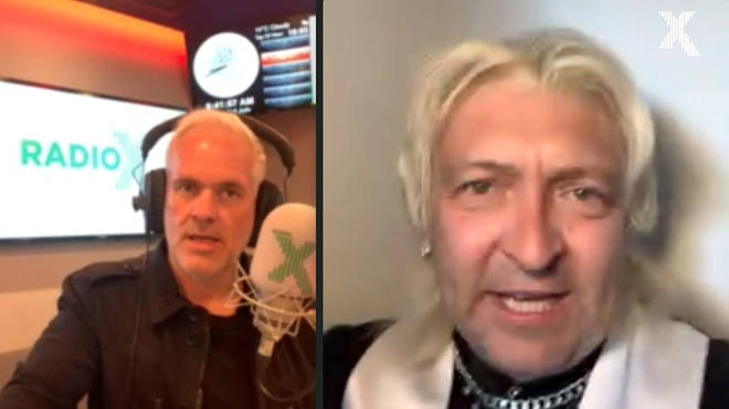 Chris Moyles talks to friend of the show Clinton Baptiste