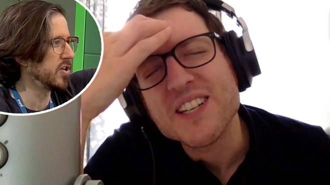 Matthew Crosby and Elis James play Betabet on Radio X