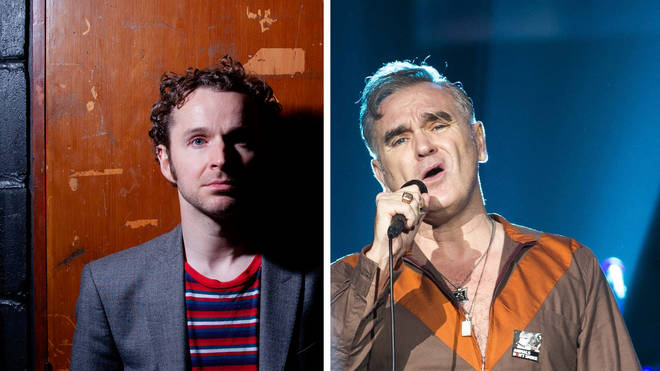 Doves' Andy Williams and The former Smiths frontman Morrissey