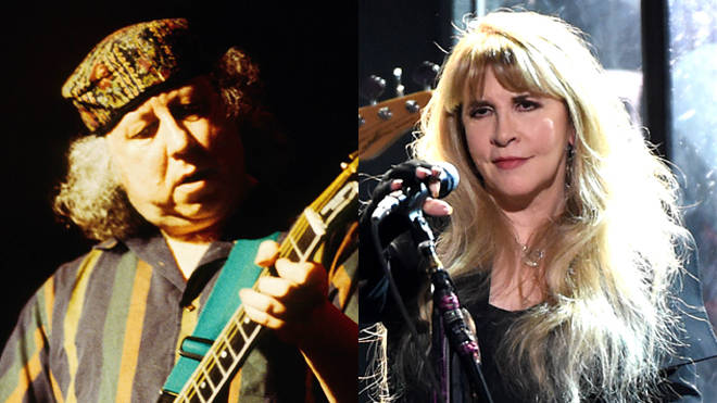 Peter Green in 1998 and Stevie Nicks in 2018