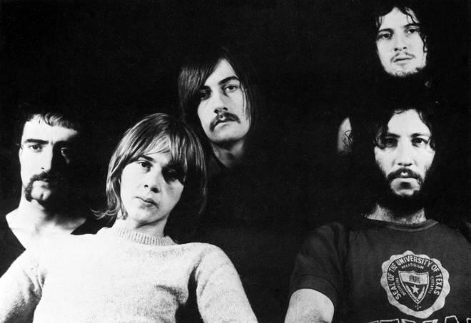 Fleetwood Mac in 1969: John McVie, Danny Kirwan, Mick Fleetwood, Jeremy Spencer and Peter Green