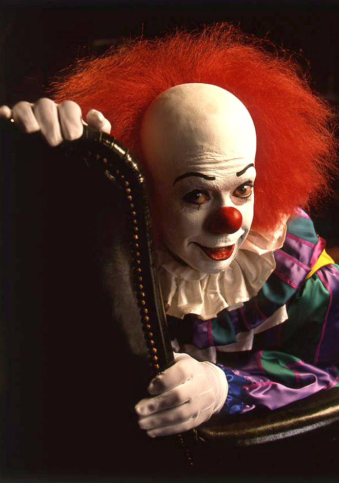 Tim Curry as Pennywise the Clown in It (1990)