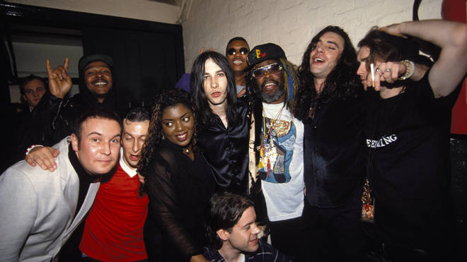 Denise Johnson with Primal Scream (and George Clinton) back in 1994