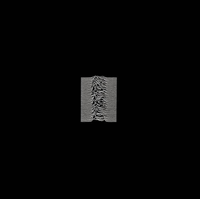 Joy Division - Unknown Pleasures album cover