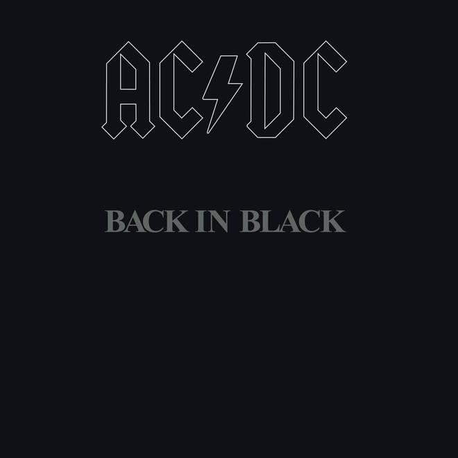 AC/DC - Back In Black album cover