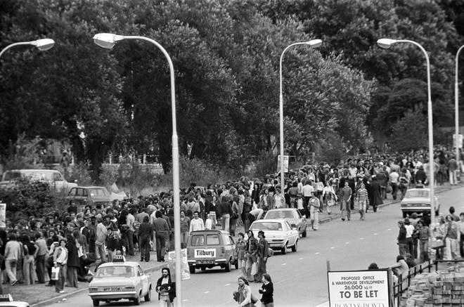 """""""Reading Pop festival. Berkshire, August 1975"""""""