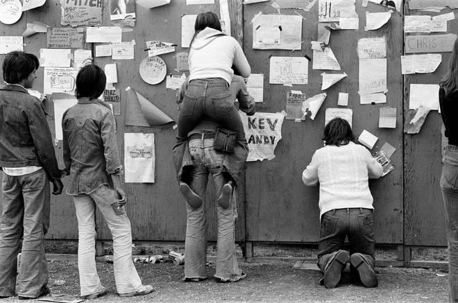 Reading Festival held at Little John's Farm, 27th August 1976