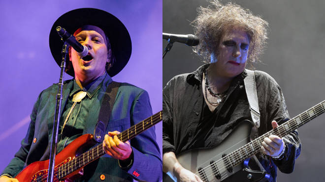Arcade Fire and The Cure performing live