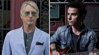 Paul Weller and Kelly Jones